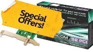 OMICOM DVB-S2 PCI summer sales